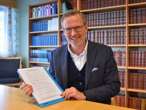 ÅRLIG: – Stipendene deles ut på årsmøtet som holdes på Dr. Sødrings bursdag 2. februar eller så nær opp til denne dag som mulig, forteller advokat Bjørn Clemetsen hos Skar Advokater.