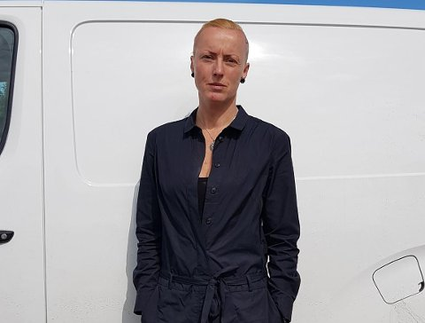 Forbannet: Kathrine Falck er forbannet på både tyven og Fjellinjen