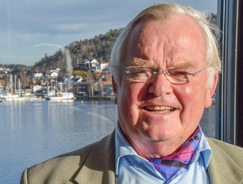 BYTTES UT: Sandefjord-rederen Herbkørn Hansson byttes ut som styreleder i Nordic American Offshore