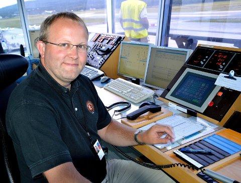 LUFTHANSJEF: Sjefflygeleder og lufthavnsjef, Gudbrand Rognes.