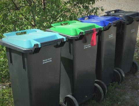 VAR FRYKTET: Mange var skeptiske da den nye søppelordninga ble innført for ett år siden. Men også det har gått seg til.