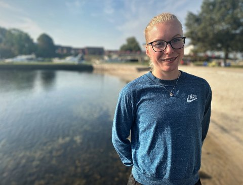 På langtur: Ida Meli Narbuvoll har antakelig lengst reisevei av samtlige i NM. Den USA-bosatte 25-åringen har kommet helt fra Nord-Dakota for å konkurrere på 5.000 og 10.000-meter i Kristiansand.