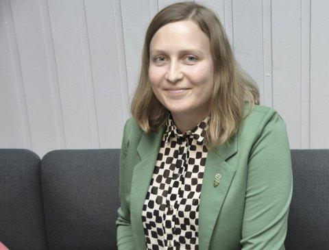 Ingrid Waagen: Allerede valgkvelden tydet alle solemerker på at hun ville bli Tingvolls neste ordfører. FOTO: YNGVE LIE