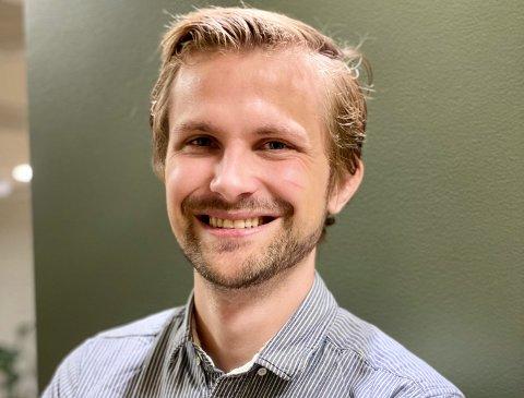 POLITISK ENGASJERT: Espen Thygesen har alltid vært interessert i politikk, men det tok en stund før Risør-karen fant sitt parti.