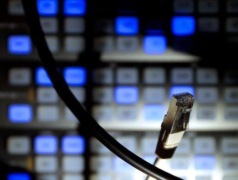 Datamengdene i verda veks enormt og krev stadig større lagringsplass. Datasenter kan difor bli ei vekstnæring. No jobbar lobbykrefter for å lokke globale IT-tungvektarar til å etablere seg på Mongstad. Illustrasjonsfoto: Lise Åserud / NTB scanpix