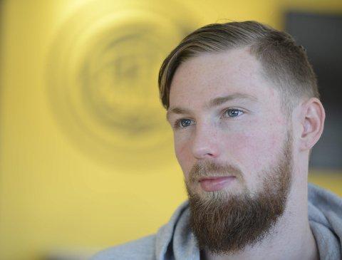 Kampklar: Thomas Drage har vært meget god på Glimt-treningene i det siste, og er klar for å bidra. Foto: Stian Høgland