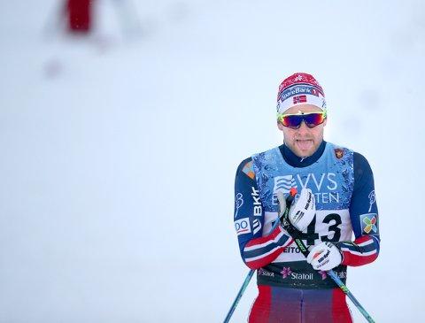 Sjur Røthe tok sølv på femmilen i NM.