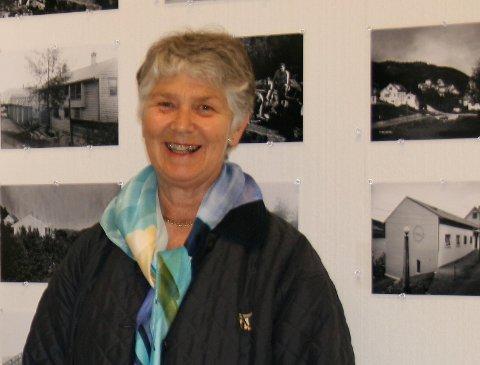 Leder for Ytre Arna museum, Sollaug Damminger. (ARKIVFOTO: BA)