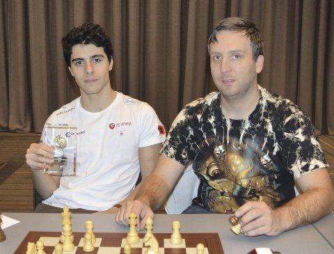 Aryan Tari og Kjetil Stokke både samarbeider og konkurrerer.