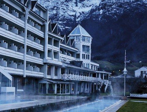 Hotel Ullensvang blir stengt mellom desember og april. Foto: Hotel Ullensvang
