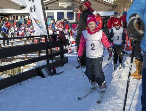 Skimiljøet i Bergen har laget en plan for å gi skisporten et skikkelig løft. Bildet er av Anna Heggland Paasche på Fanarennet i fjor.
