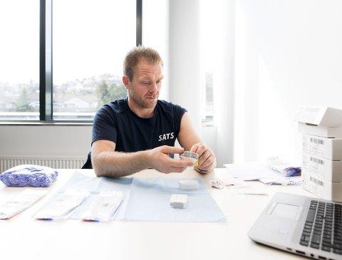 Onsdag kveld i forrige uke  ble de første dopingtestene med metoden Dried Blood Spot (DBS) gjennomført i Bergen.