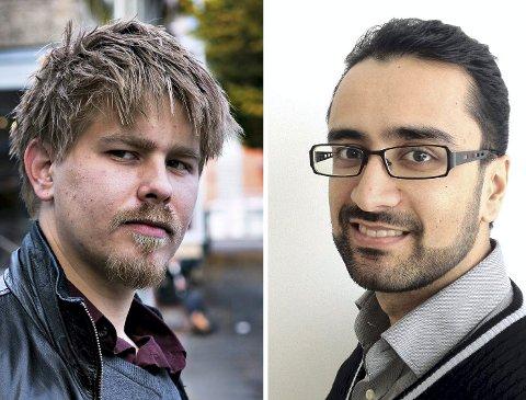 SKJERPINGS, FRP: «Vi oppfordrer Drammen Frps folkevalgte til å legge vekk personkarakteristikker», srkiver Aps Vegard E. Stillerud (t.v.) og Tony Burner.