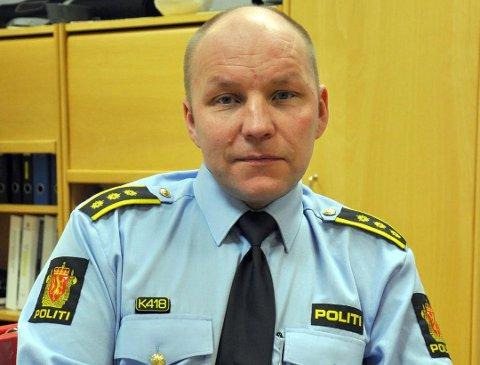Runar Elde, politistasjonssjef i Nordkapp, orienterte administrasjonen i Nordkapp kommune under politirådsmøtet i forrige uke.