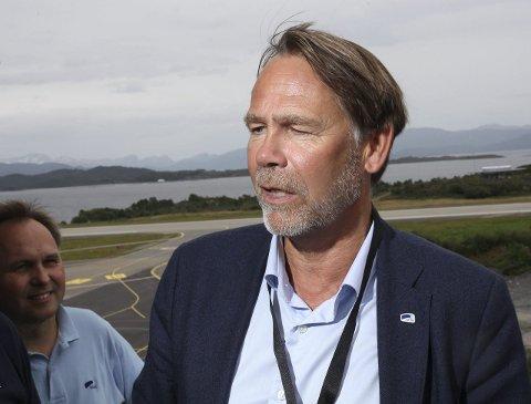 AVVENTANDE: Leiar i Flora Industri og Næringsforening (FIN) Bjørn Hollevik.