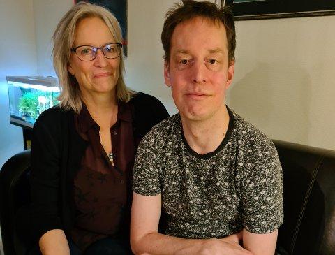 NYTT LIV: Familien Underthun har fått eit anna liv Pål Asbjørn fekk personlege assistentar. Det gjer mor Bente Underthun glad.
