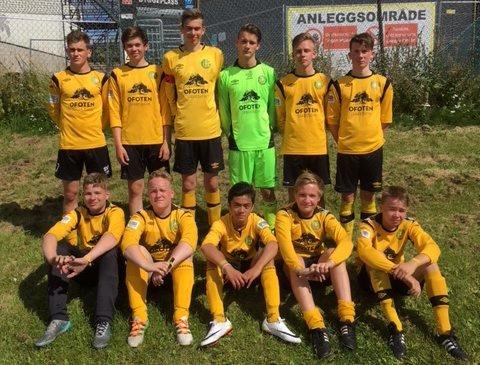 Ballangen vant i Norway Cup mandag.