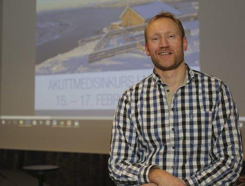 BEKYMRET: Kommuneoverlege Sverre Håkon Evju har nå tatt direkte kontakt med samferdselsminister Solvik Olsen.