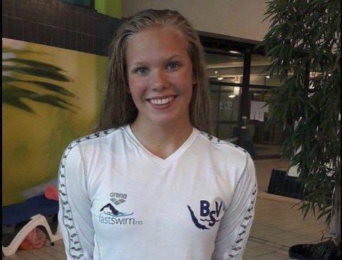 Ingeborg Vassbakk Løyning fra Bjerkvik tok NM-gull i svømming fredag.