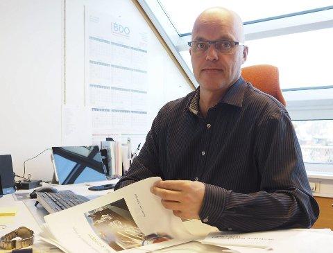 Fornøyd: Kjetil Moe er fornøyd med at det skal etableres dialog med næringslivet.
