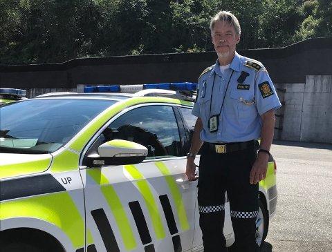 UP-sjef Frode Thraning er genuint opptatt av trafikken og skal selv på kjøreferie i sommer. – Jeg vet hva risikoen er ute på veiene, sier han.