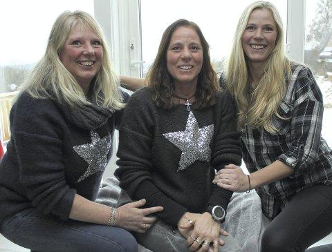 Ny konsert: Søstrene Lilli Ann (fra venstre), Anette og Hege Mobakk arrangerer ny konsert «For dagene som kommer» 6. desember.