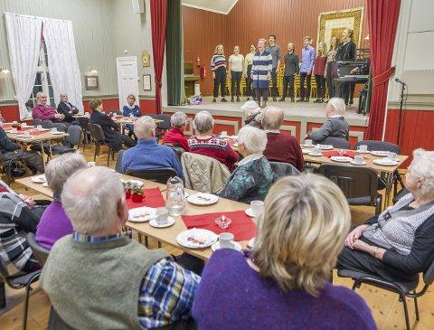 SLUTT: De populære hyggekveldene i Skogtun er historie. I mars ble Sør-Odal eldres forening lagt ned. Bildet er fra januar i fjor.