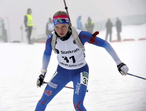 VANT: Juni Arnekleiv vant sin klasse under NM for junior på Simostranda.