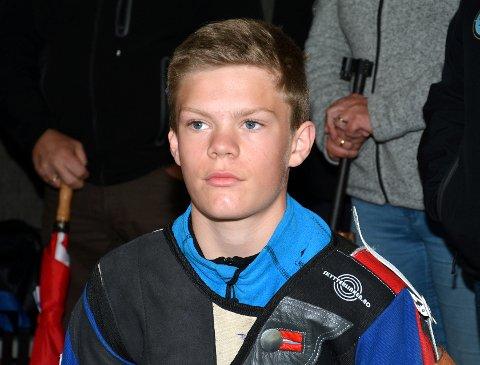 Rekrutt: Edvard Haugen, Lom og Skjåk, med 246 på banen.