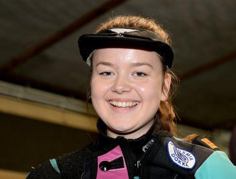 Mette Strandlien, Ringebu og Fåvang, leverte gode resultater i baneåpningen, i sin første sesong som senior.