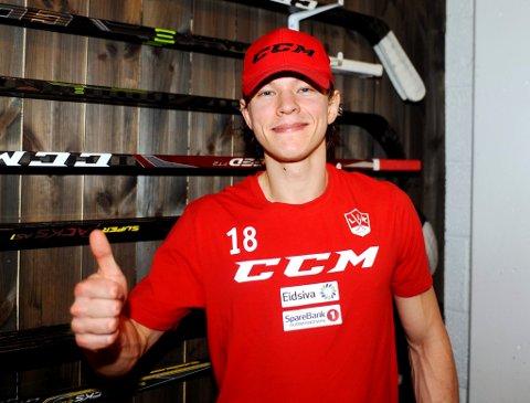 Martin Gran bestemte seg tidlig for at han ville fortsette i Lillehammer. Nå har han satt navnetrekket på en ettårskontrakt med klubben.