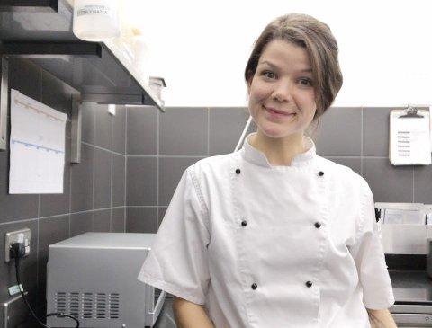 KONDITOR: Åsta Tufto har siden i fjor høst jobbet på restauranten «The Fat Duck» som har tre stjerner i Michelin-guiden og som tidligere er kåret til verdens beste restaurant.