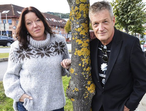 NY KALENDER: Kristin Myrås og Jørn Haakenstad gir ut kalender med motiver fra Hadeland også i år.