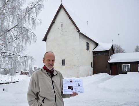 VÅRPRGRAMMET KLART: Amund Bø i Steinhusets Venner kan by på alt fra Brahms til Lahlum.
