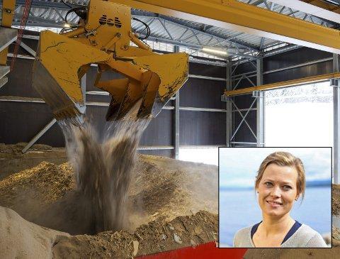 BIOØKONOMI: Kjersti Bjørnstad (Sp) i fylkestinget i Oppland sier det er bred politisk enighet i Oppland i sakene som omhandler bioøkonomi.