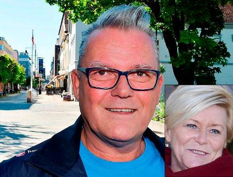SIER NEI: Johan Aas i Innlandet Frp er klar på at partileder Siv Jensen må levere for å beholde ministerposten.