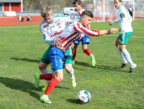 TIL FREDRIKSHALD: Tidligere Kvik-spiller Rinor Toppalaj har også skrevet under for Fredrikshald Prishtina.