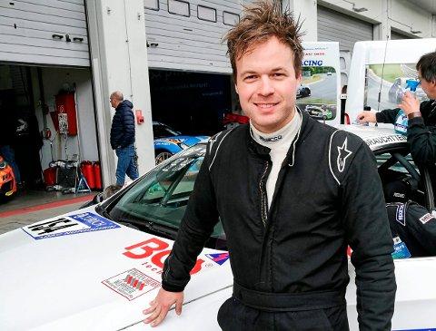 SATSER: Inge Hansesætre (31) gleder seg til årets racingsesong i VLN-serien i Tyskland. Første løp er allerede kommende lørdag - på Nürburgring.