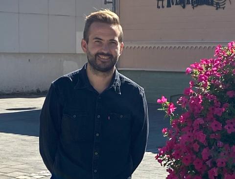 FRIVILLIGKOORDINATOR: Tor-Håkon Sundt Nordenhaug er frivilligkoordinator i Halden kommune.