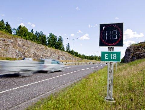 HØYERE STANDARD: Nye Veier har klart å bygge veier med høyere standard; firefelt fremfor tofelt og 110 km/t i stedet for 90 km/t, skriver Morten Stordalen, Frp.8Foto: NTB SCANPIX