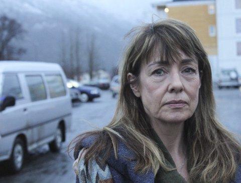 Fortviler: Heidi Wiik føler at hun møter veggen i kontakt med politiet om etterforsking av arbeidsulykken der sønnen Tobias Daleng Wiik omkom. Foto: Jon Steinar Linga