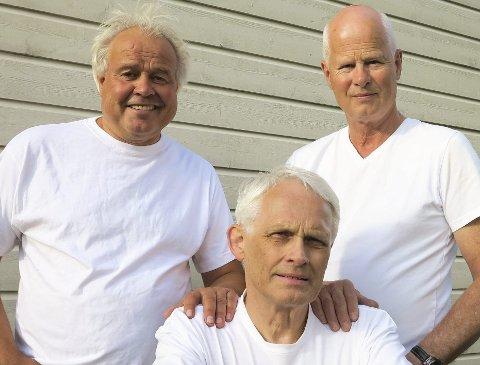 KASSETTLINGER: Per Jordbakke (t.v.), Knut Clausen og Erik Telle.