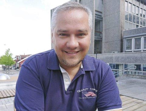 ORDFØRERKANDIDAT: Jan Fredrik Vogt blir Fremskrittspartiets ordførerkandidat ved det kommende kommunevalget i Holmestrand. Arkivfoto: Privat
