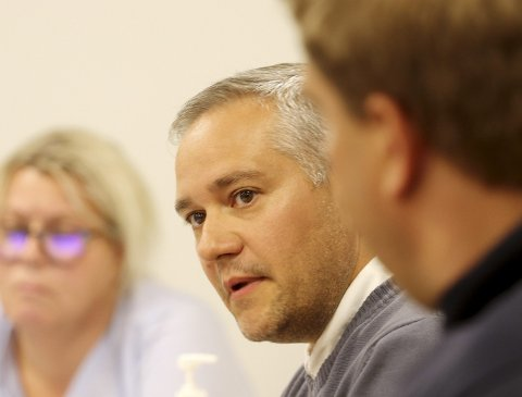 IKKE FORNØYD: Jan Fredrik Vogt (Frp) er frustrert over manglende framdrift når det gjelder forslag til tiltak innenfor årets budsjett. Foto: Pål Nordby