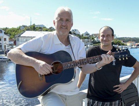 ALLSANG: Reidar Skoglund og Cato Lindheim håper på fest og allsang på Stoppen på sankthansaften.