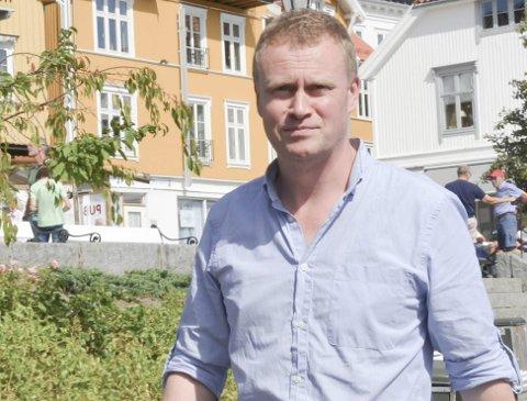 Vil vokse: Den daglige lederen ved TPI i Kragerø, Craig Sweenie, ser fram til at de nå kan begynne å vokse.