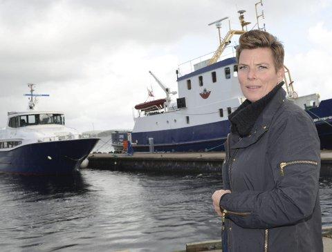 Kritiserer: Henriette Fluer Vikre (Frp) mener at varaordfører Charlotte Therkelsen Sætersdal snakker ned Kragerø Fjordbåtselskap i fylkestinget.