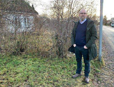 UTBYGGING: Deler av dette gamle huset i Fredbovegen skal bevares, forklarte utbygger Børre Brekka da PD skrev om boligprosjektet i januar 2020. Nå har naboer i Ekelundvegen engasjert seg for riving og får støtte fra velforeningen på Vestsida.