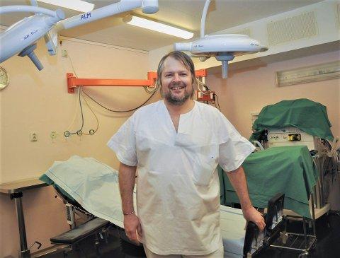 SPESIALIST: Christian Kjellerød har drevet spesialistpraksis i Kragerø de siste ti årene. Her avbildet ved en tidligere anledning.