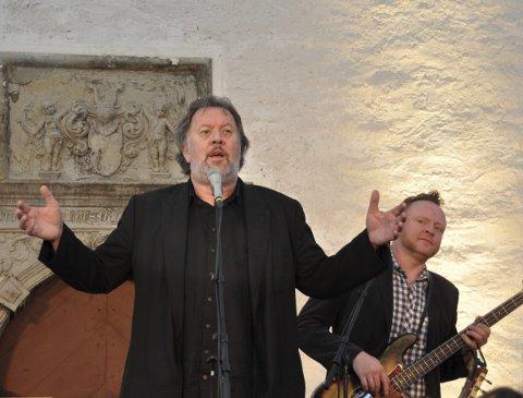 KLAR: Bjørn Eidsvåg byr på tre konsertar i Borggården. Der likar han seg best. Arkivfoto